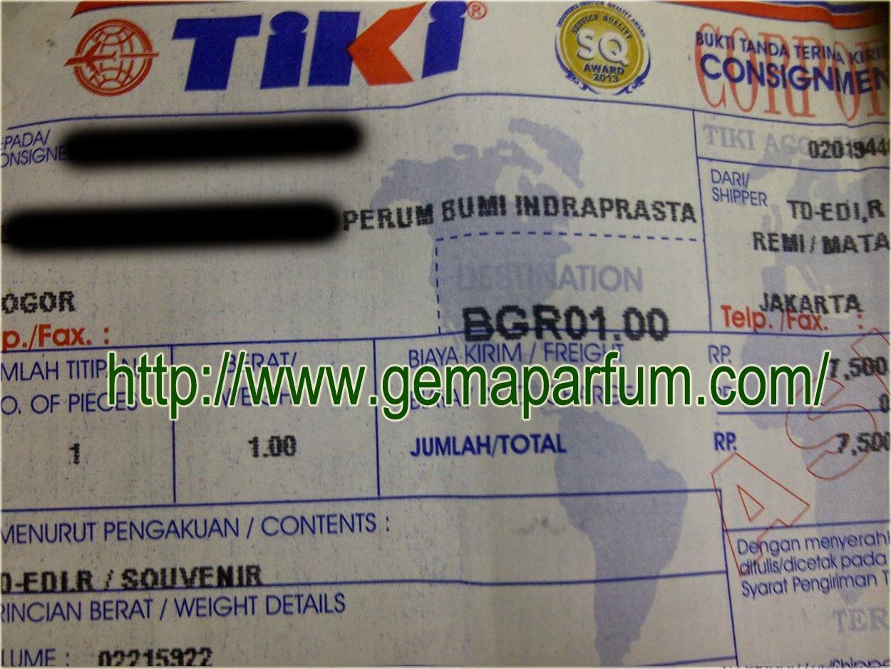 Pengiriman Parfum ke Bogor