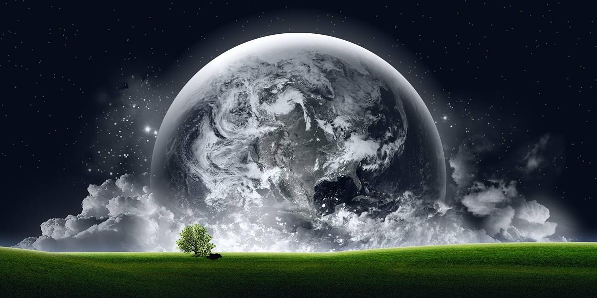 Space Earth l 300+ Muhteşem HD Twitter Kapak Fotoğrafları