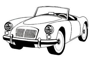 Desenhos de Carros da Hot Wheels para colorir - Carrinhos Hot Wheels