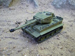 scale model Panzerkampfwagen VI Tiger Ausf. E