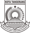 Logo Kota Tangerang hitam putih