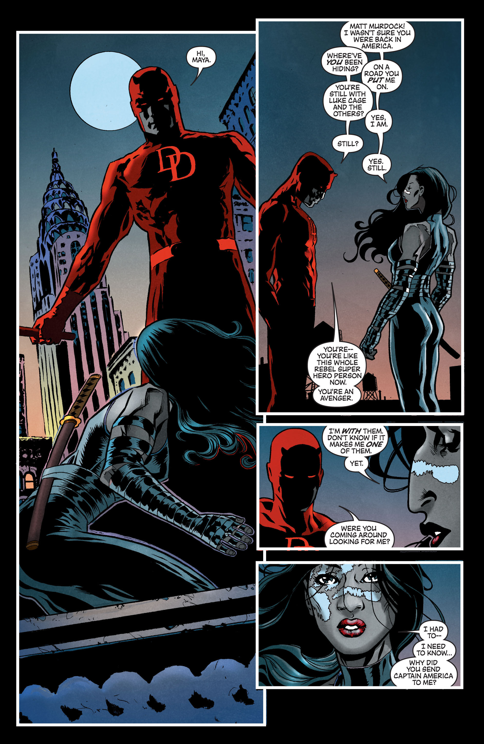 Read online Secret Invasion: The Infiltration comic -  Issue #7 - 7