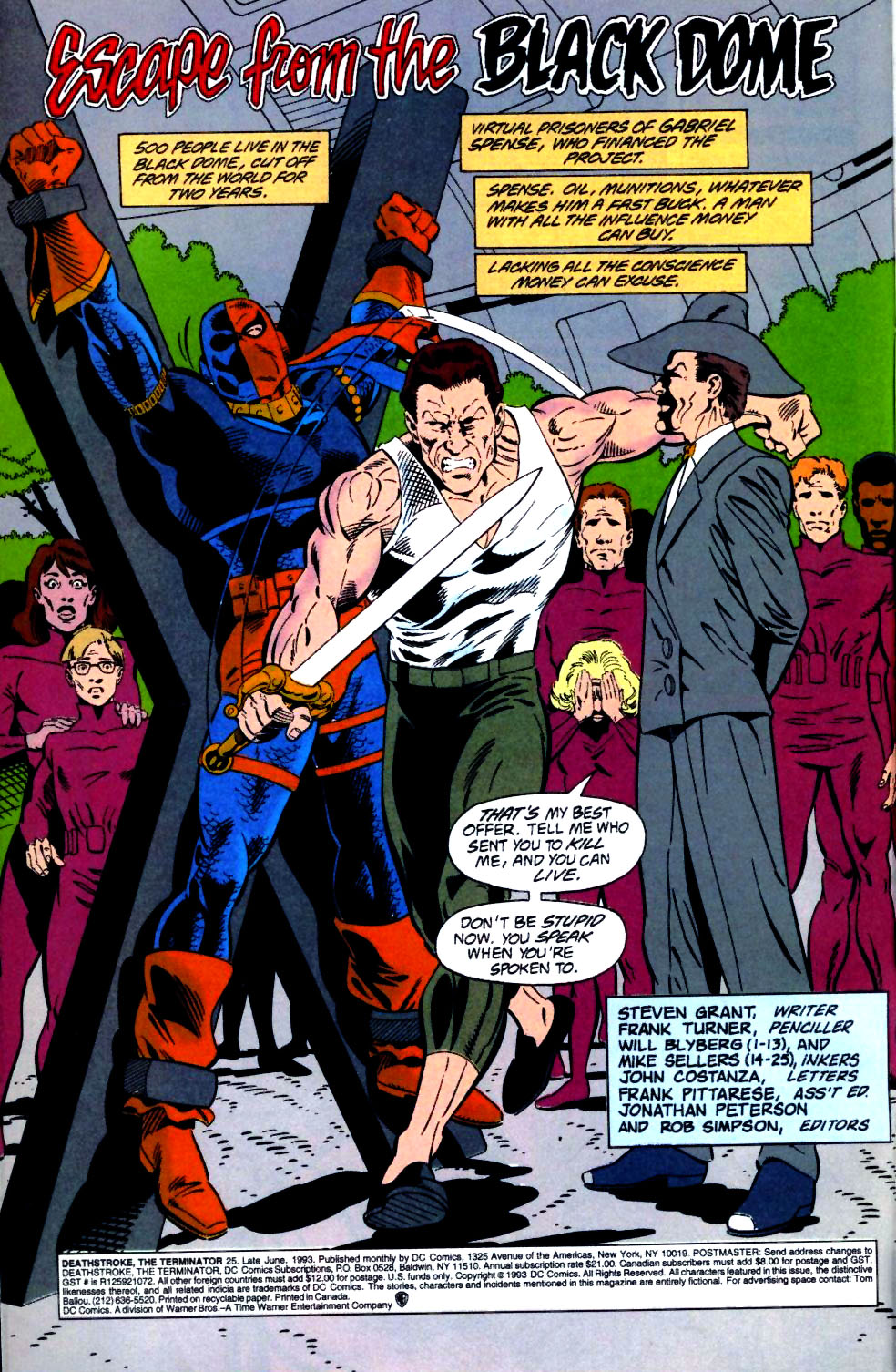 Deathstroke (1991) Issue #25 #30 - English 3