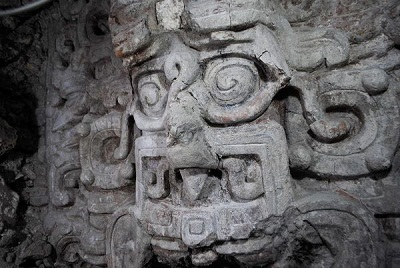 Maya Temple some 1600 year ago .