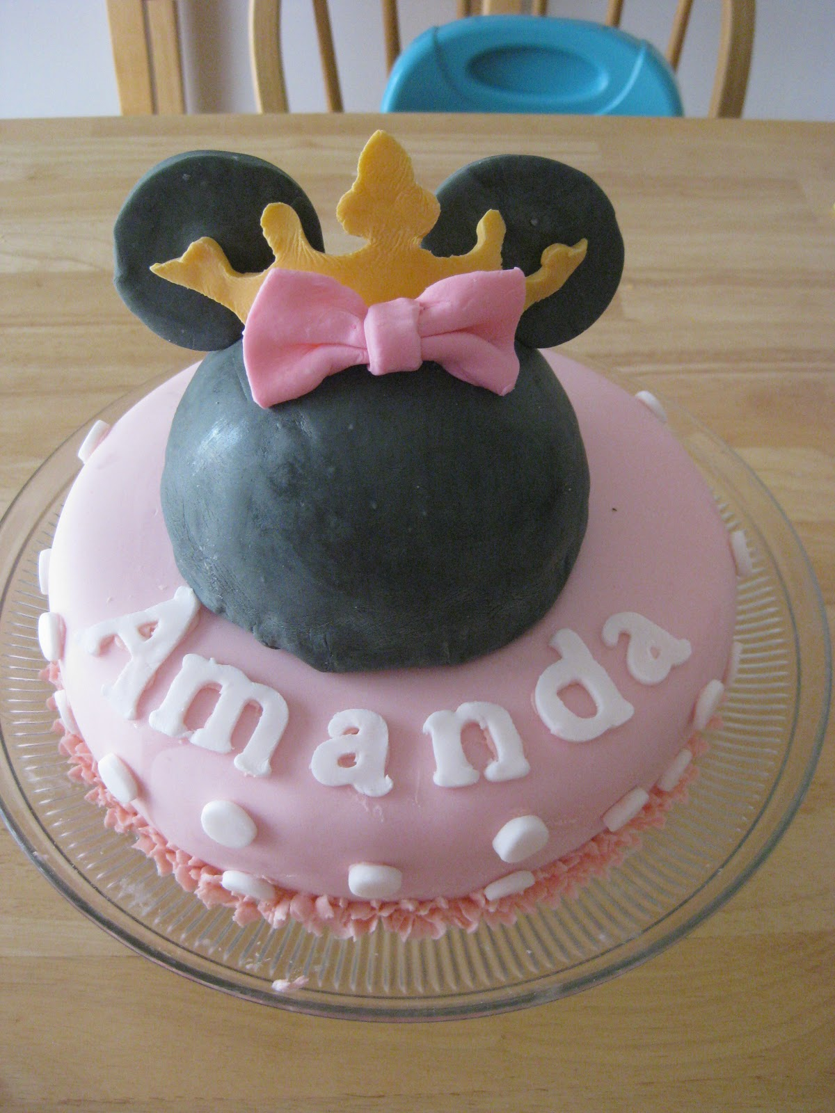 Heaven Scent Creations Princess Minnie Mouse Cake