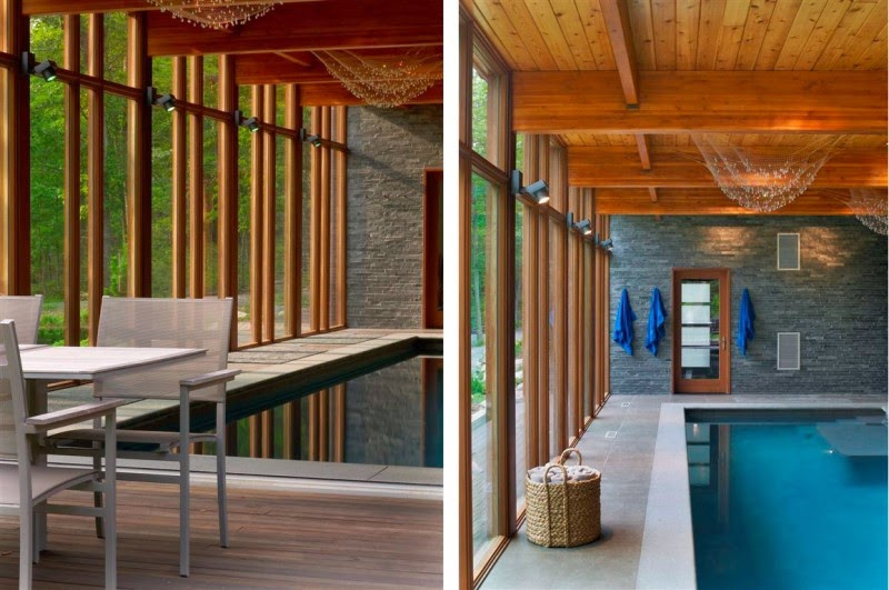 Home Design And Real Estate: Wood Hudson Valley Country House by ...
