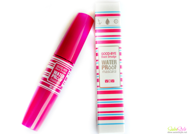 VOV Good-Bye Black Smudge Water Proof Mascara.