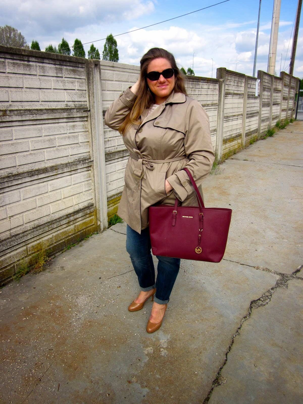 Trench Plus Size Outfit