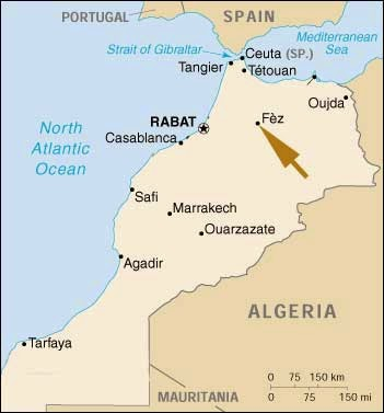 Tourism in Morocco August 2014