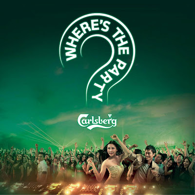Carlsberg Where's the party IV 2013 poster