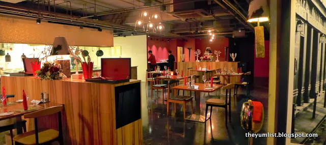 Grill 582, Christmas Set Menu, Best Western Premier, Kuala Lumpur