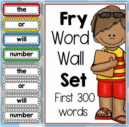 Fry Word Wall download Clever Classroom