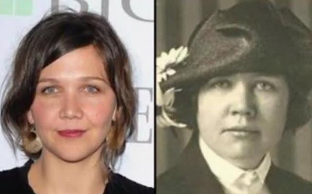 Parecidos razonables: Maggie Gyllenhaal y Rose Wilder Lane.