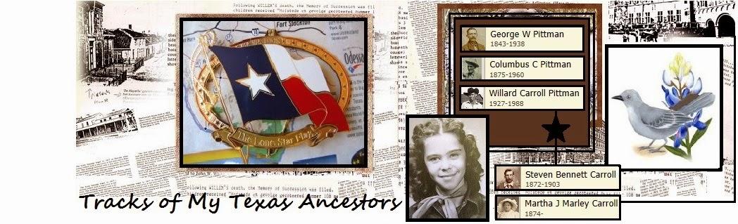 Tracks of My Texas Ancestors