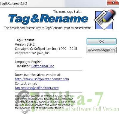Tag&Rename 3.9.2 Portable