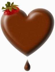 Corações Trufados e Cestas de Chocolates..