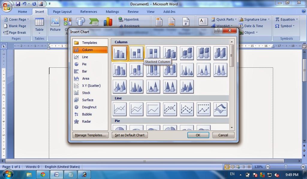 Cara membuat grafik pada microsoft word chart ms word tutorial cara membuat grafik pada microsoft word chart ms word ccuart Gallery