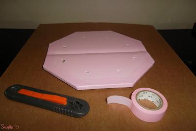 doublage deco cannelures - Arbre sèche pinceaux