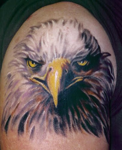 tattoos designs art eagle head tattoo. Black Bedroom Furniture Sets. Home Design Ideas