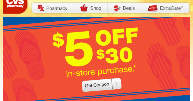 5 off 20 cvs coupon 2018