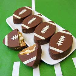 Ritz Cracker Crunch Footballs