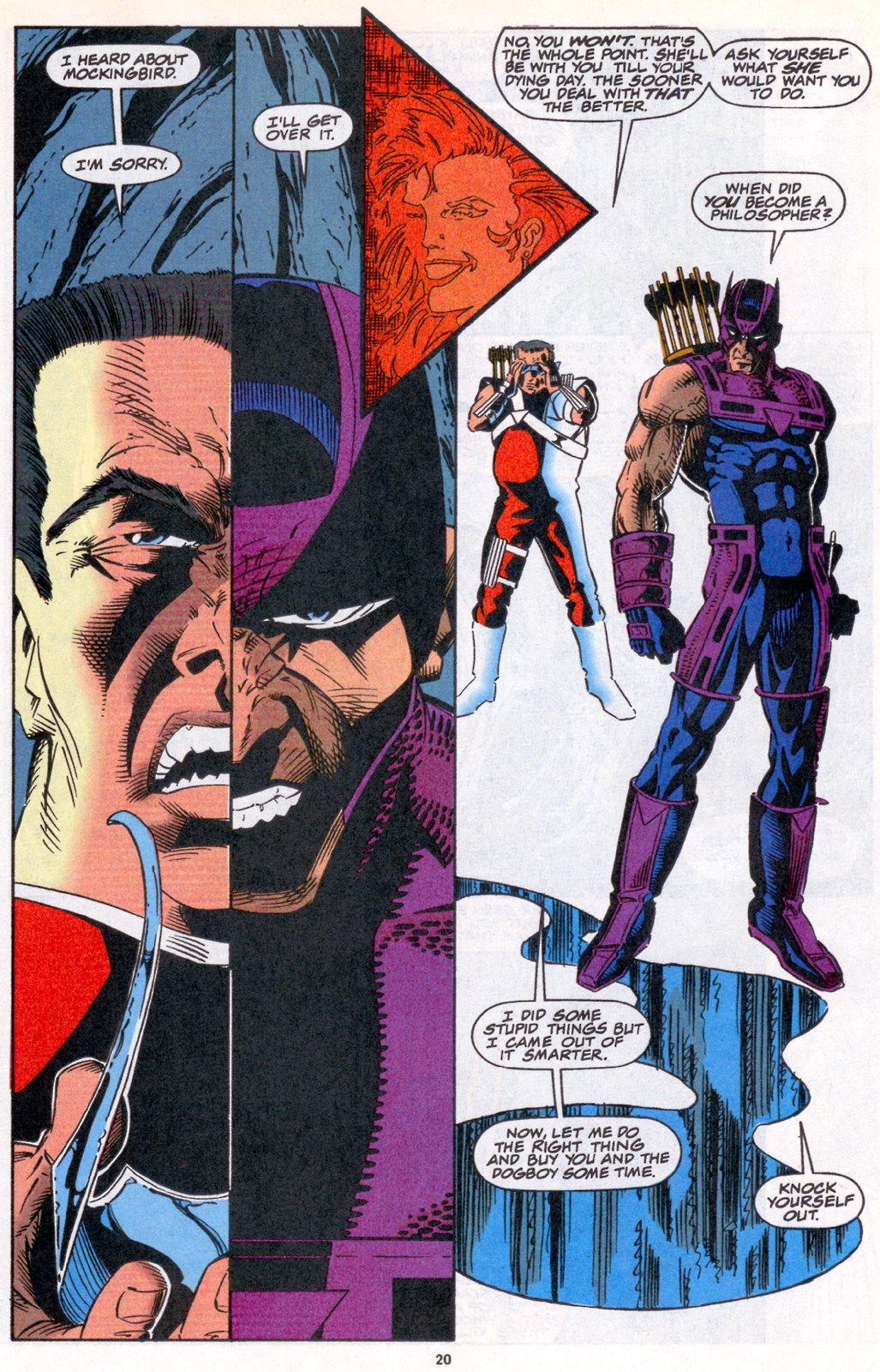 Hawkeye (1994) Issue #4 #4 - English 16