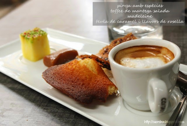 cafe gourmand, plato típico francés, plat típic francès