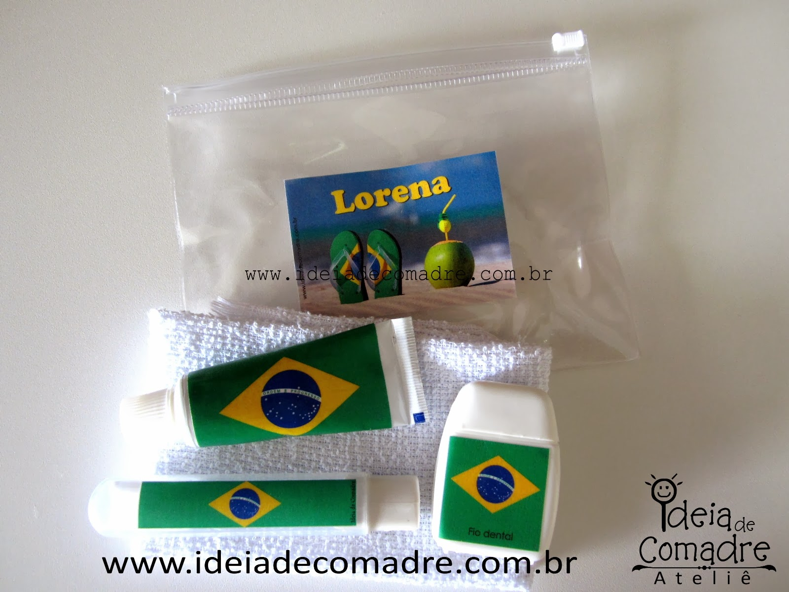 presentes com tema de copa do mundo - brasil