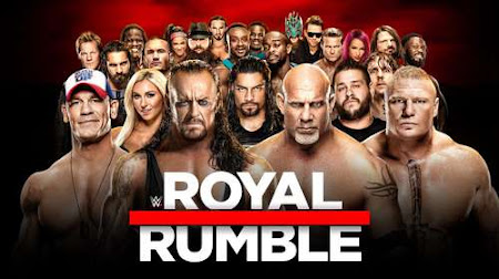 Poster Of WWE Royal Rumble 28th January 2018 PPV HDTV 480P 300MB