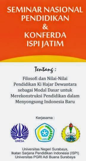 Semnas Pendidikan dan Konferda ISPI Jawa Timur