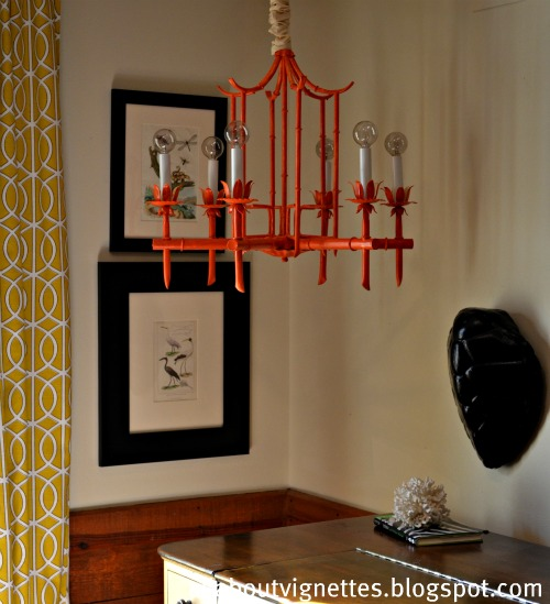 All about vignettes hollywood regency bamboo chandeliers aloadofball