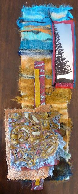 textile art, omaha beach, alysn midgelow-marsden