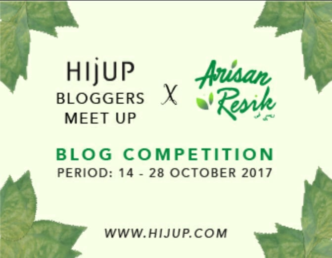 Blog Competition Hijup x Resik-V