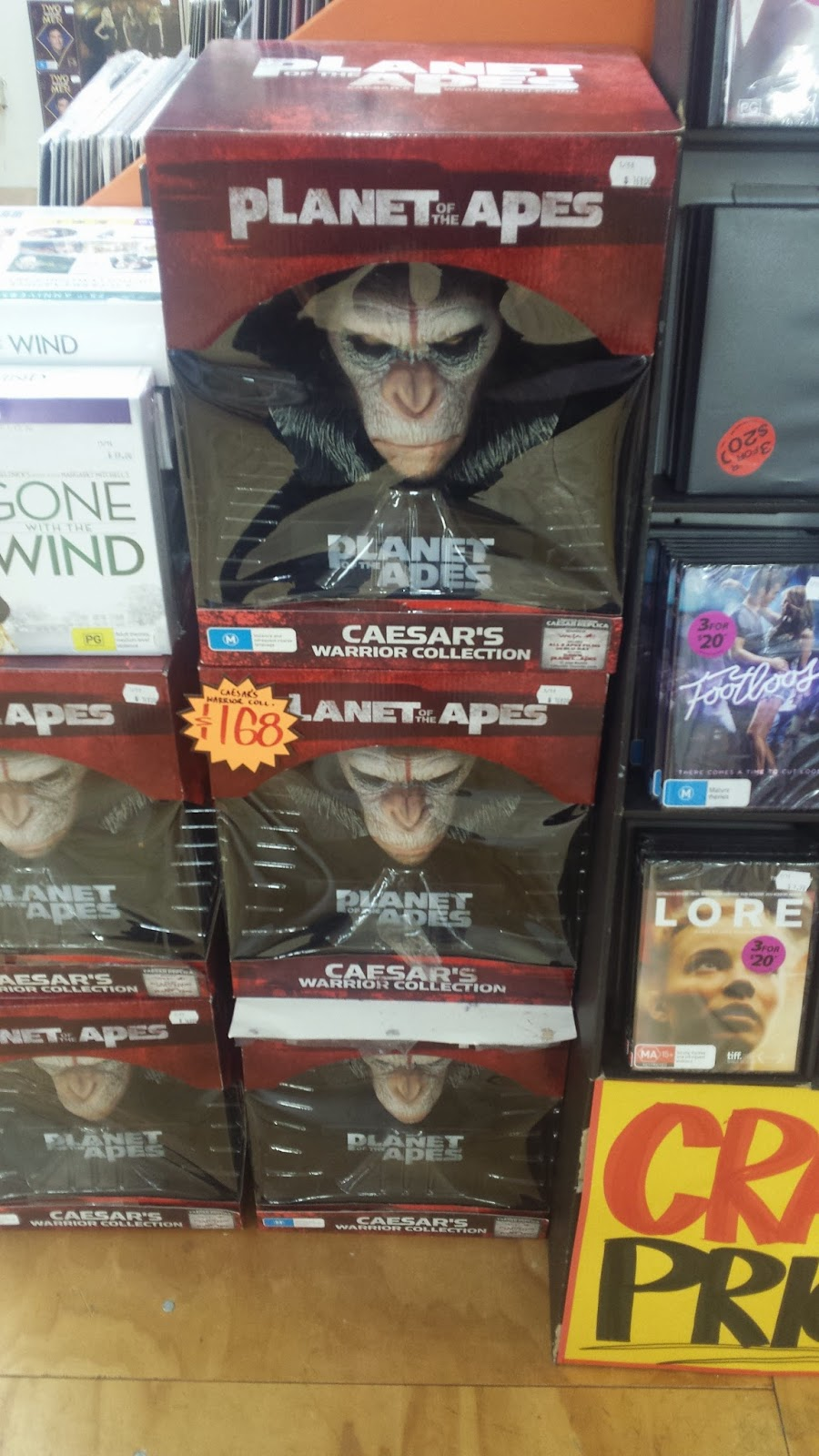 Planet Of The Apes Caesar's Warrior Collection