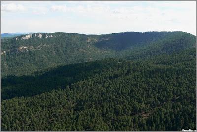 Vista de la izquierda del valle de El Hosquillo