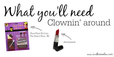What You'll Need Clownin' Around Easy Clown Halloween Makeup Tutorial