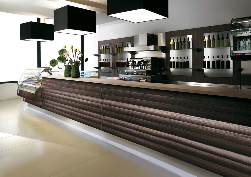 Degart design collection per bar degart arredamento for Banchi bar e arredamenti completi