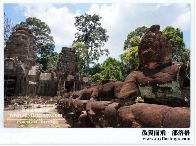 Travel Cambodia 2015 | 大吴哥城之金光辉煌的《圣剑寺》 Preah Khan (2)