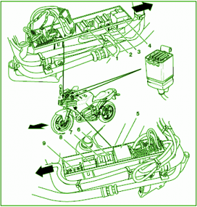 charging system diagram pontiac wiring diagram for car engine 7 pin trailer wiring diagram for hookup in addition 96 chevy s10 wiring diagram moreover 30