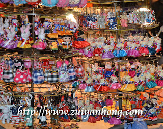 Myeongdong Souvenir Stall