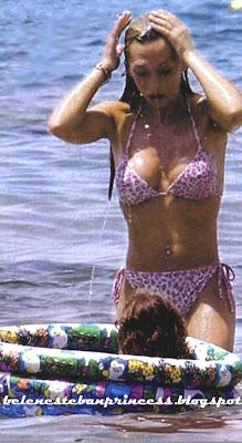 bikini joven belen esteban cuerpazo baño