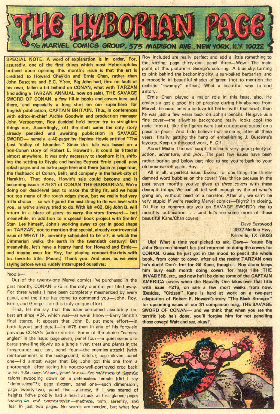 Conan the Barbarian (1970) Issue #79 #91 - English 21