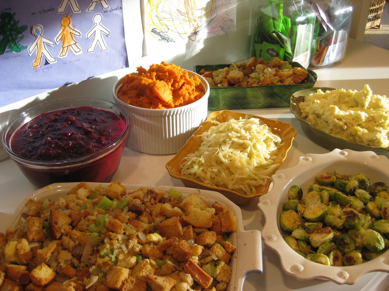 Our Familys Thanksgiving Feast Side Dish Recipe Round Up