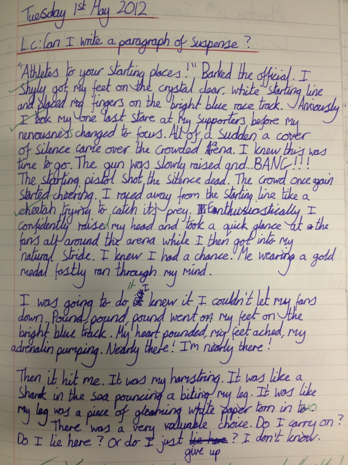 Boast essay about yourself