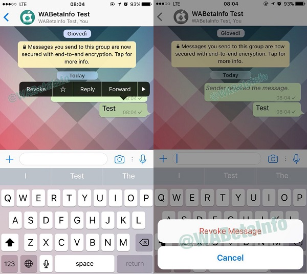 WhatsApp to Introduce 'Edit' and 'Unsend' Features
