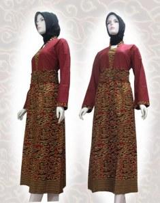 baju batik Muslim 01ewe