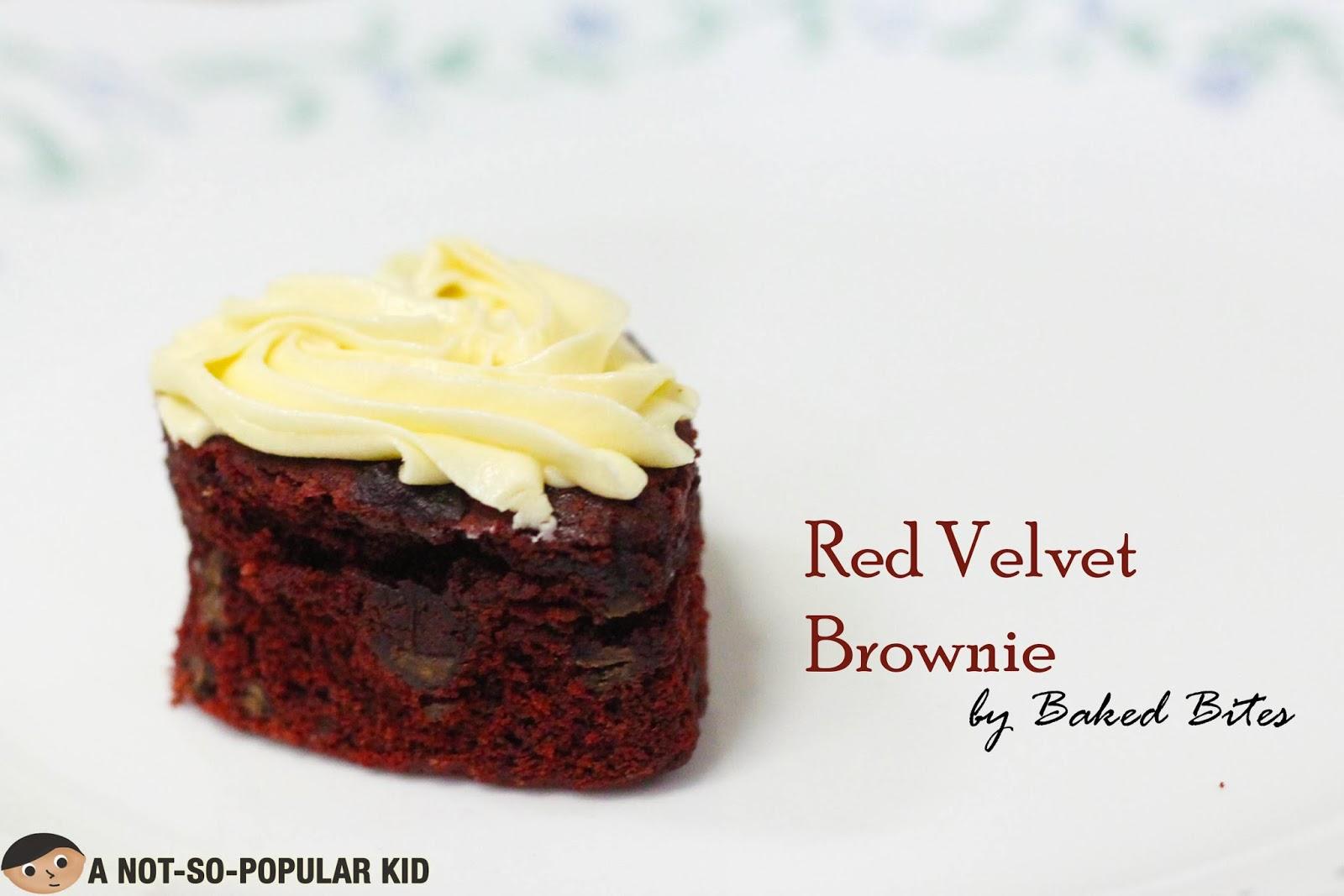 Red Velvet Brownie by Bettinna Carlos' Baked Bites