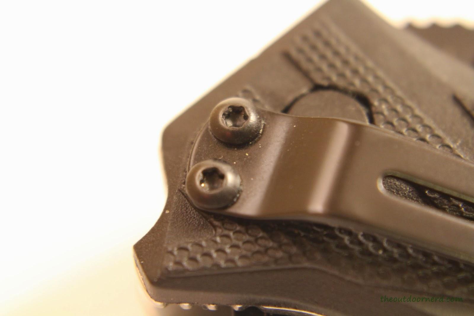 Kershaw Brawler Pocket Knife Close Up Of Clip 2