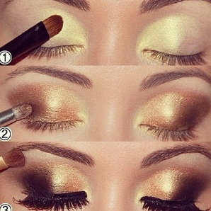 Gorgeous smoky eye palette for women