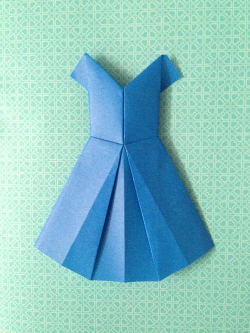 forty weeks crafts diy origami dresses